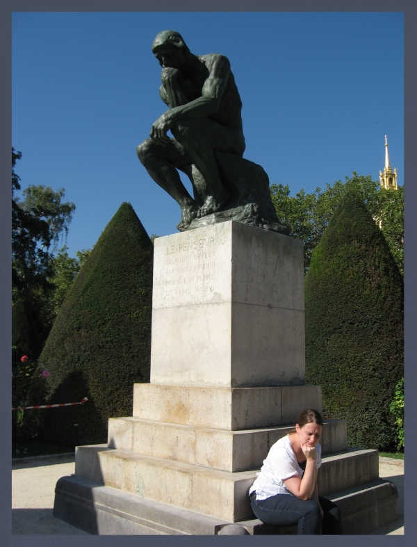 The Famous Thinker!
